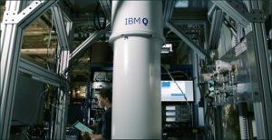 O processador quântico da IBM é baseado em qubits supercondutores. [Imagem: IBM]